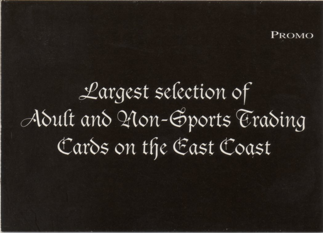 trading non sports Adult card